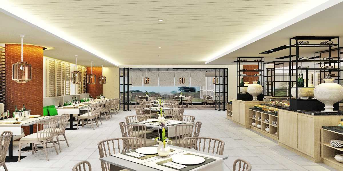 Project restaurant at resort hotel desain arsitek oleh for Design hotel i restoran navis