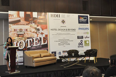 One Day Seminar -Hotel Design and Beyond Maret 2013  (sumber : hdii.or.id)
