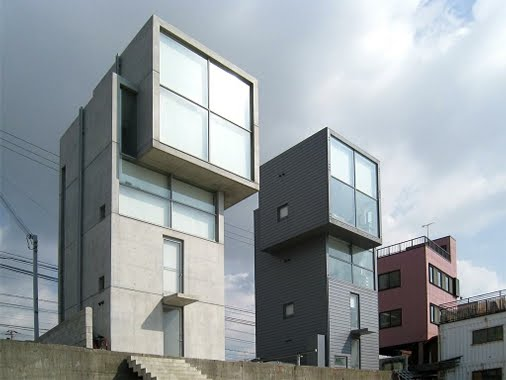 4 x 4 Kobe twin House (Sumber:  pinterest.com)