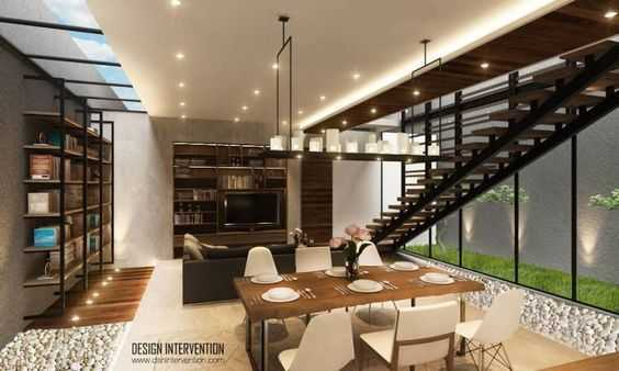 J House at Gading Serpong oleh Design Intervention (Sumber: arsitag.com)