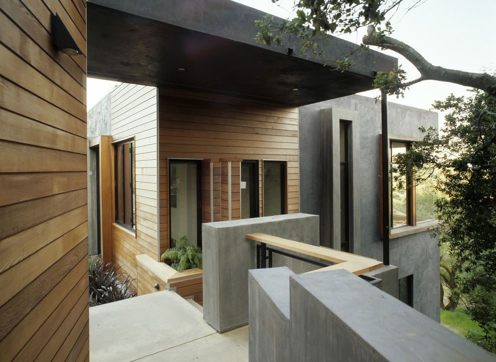 Desain reveal pada siding farmhouse by House House architects (Sumber: homeandlivingdecor.com)